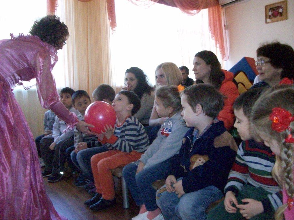 Сценарий праздника для детей с овз